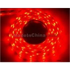 Free Shipping 5M/roll 5050 color led Strip Light 150leds + adaptor waterprof IP65 Red Colour Christmas light decoration
