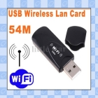 Mini USB 2.0 WiFi Wireless Lan Card Adapter 54M 802.11B/G, Free Shipping     lc91077
