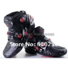 free shipping Men's Racing boots Motorcycle Boots Motocross Boots Motorbike leather Boots Cycling boots bicycle boots E10