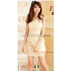 8308 han edition dress new sundress romantic amorous feelings single shoulder snow spins small formal attire modelling dress