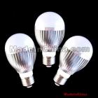 factory direct sales 7w led globe bulbs,10pcs/lot,Bridgelux chip 7w led bulb,85v-265v,3years warranty