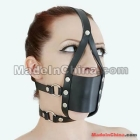 Top Quality Harness Ball Gag with Veil with Soft Rubber Ball in It