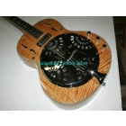 New Arrival  High Quality hollow body Dobro Resonator Natural Electric Guitar High stock Top