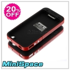 Dual USB 2000Mah Portable Power Case Back UP Battery Case Emergency Charger for iS