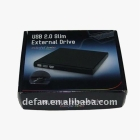 USB 2.0 Portable Slim External DVD-RW Colorful Series