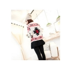 Free shipping Women geometric patterns hedging sweater 6311 Round neck sweater