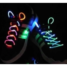 Wholesale - 2011 light up LED flashing flash shining shoelace shoelaces shoe shoes  s bootlace shoe-