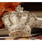 Wholesale--New women's fashion jewelry Lovely mini crown brooch#F691