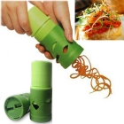 Wholesale-Vegetable Fruit Twister Cutter Slicer Processing Device Kitchen Utensil Tool#E241