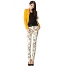 2012 pants women jeans denim brands trousers straight slim fit stretch Colourful jeans ladies jeans