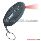 LED Digital Breath Alcohol Tester Analyzer & Timer with Flashlight Key Chain 09073