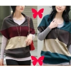 Free Shipping !loose  wool sweater, knitwear,weave sweater,pullover,batwing coat, women clothes