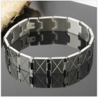 wholesale new ! fashion mens bracelets 316Lss qualitative What`s hot silver Simple and easy women bracelet +free shipping