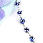 Free shipping bracelets ,fashion evil eyes inlay bracelet ,-1253