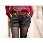 2012 little hot drill woollen shorts boots pants big yards  female trousers
