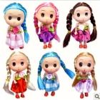 dolls hang long tails dim doll children's toys