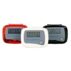 wholesale 50pcs/lot EMS free shipping LCD digital electronic Pedometer Step Walking run Counter
