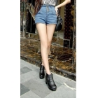 free shipping new women's Platform shoes buckles thick with thick bottom Martin boots size 35 36 37 38 39