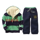 free shipping !  children's Sweater tracksuit quilted jacket suit