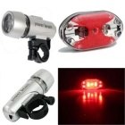 Outdoor Sport Cycling Bicycle Light LED Headlight Taillight Sets rear lights