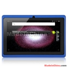Free shipping Q88 7 inch Android 4.0 Boxchip A13 1.0GHz Tablet PC Blue    pink