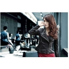 Han edition cultivate one's morality show thin short money soft fur clothing small jacket female coat