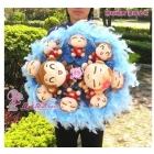 The  lovers? Heh monkey hip-hop YOYOCICI cartoon bouquet birthday gift for valentine's day graduated from men and women living