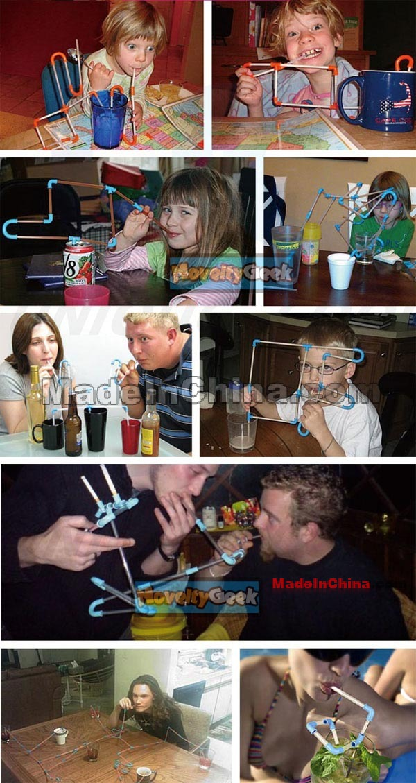 how to clean crazy straw
