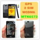 "3G WCDMA Smart Phone MTK6573 Chip GPS Navigation Smartphone WiFi TV  2.3 OS Unlocked 4.3"" Capacitance Screen x15i"