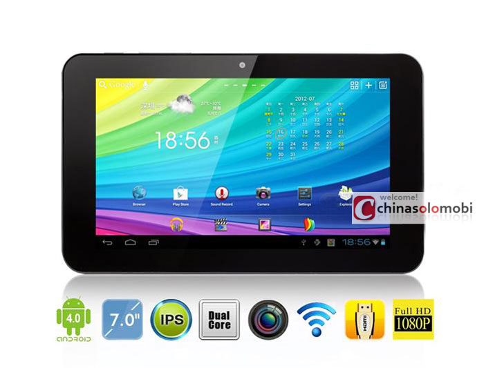 you window n70 dual core yuandao tablet pc 7 inch ips android 4 0 ips rk3066 mali400 mp4 1gb ram hdmi well limiting