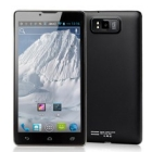 C3  6inch 3G GPS  MTK6577 Dual Core 1.2GHz android 4.0 WCDMA 5.0MP Dual sim Smart phone