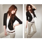 fashion women Korean style a button Slim small suit coat jacket Free Shipping/retail/promotion