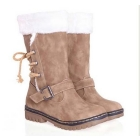 women boots Suede Flat snow Boots winter boots Free shipping Size