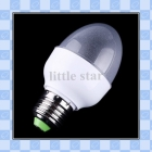 AC 110-220V 2W E27 led lamp with 37 LED Bulb lamp Colorful spot light led Lighting free shipping