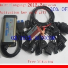 Free shipping! 2013Top Rated +2012.2+ M6636B OKI Chip Autocom CDP  For Car  with 8 Pieces Cables