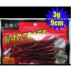 Wholesale fishing lure soft lure fishing bait Soft insect 90mm/3g