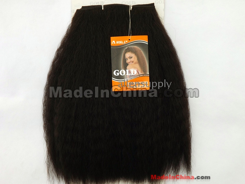 Noble Gold Bohemian Synthetic Hair Extension Sprzeda Hurtowa Free