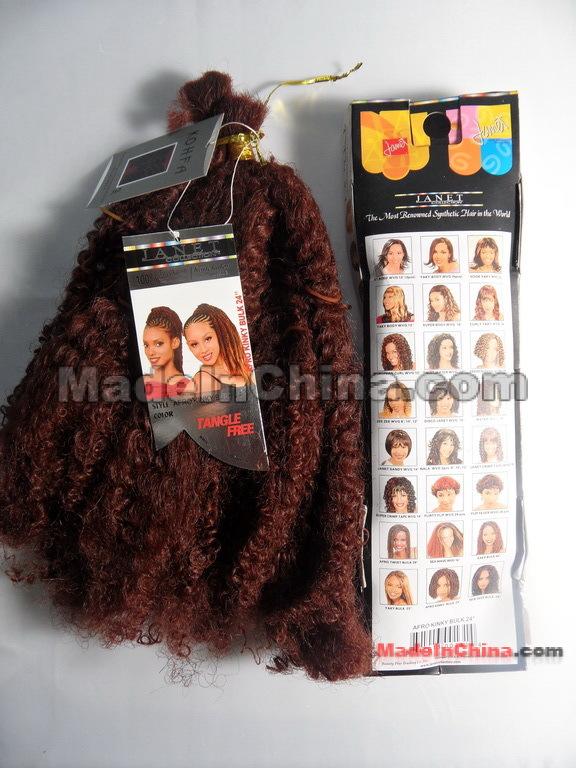 Miraculous Janet Afro Kinky Bulk Hair Kanekalon Synthetic Wholesale Janet Hairstyles For Women Draintrainus