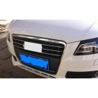 Stainless steel Decoration bar Front Grille Around Trim FOR  A4L  7PCS
