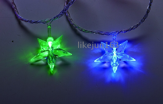 Waterproof Polyhedral Star Led Christmas Lights