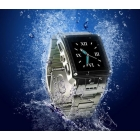 [Hot] Fashion Waterproof Stainless Steel Mobile Phone W818 Wrist Watch Phone