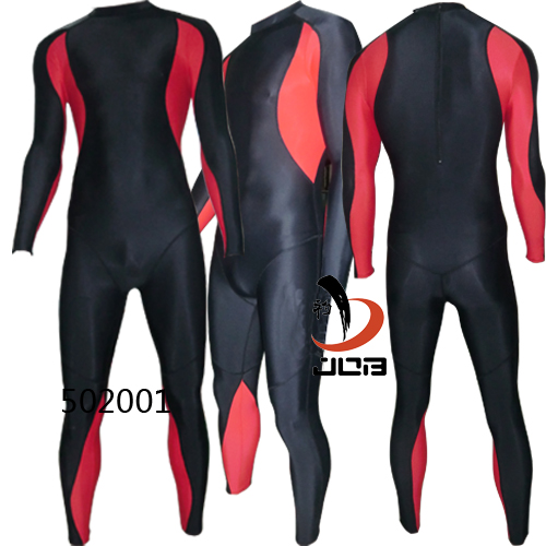 d52b7e93f ... JOB Endurance Swimsuits Full Body 1mm Diving Suits Black and Red 502001  ...