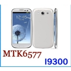 Dual Core Android 4.1 OS 3G GPS S3 i9300 Phone MTK6577 1.4GHz Cortex A9 4.7''Screen