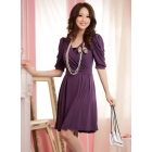 Urban fashion leisure women's dress lady dress Elegant temperament