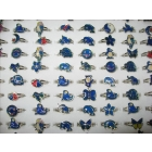 wholesale 500pcs mixed animals mood rings butterfly,smile,heart,peace dove fashion rings jewelry Free shipping