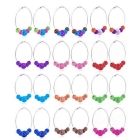 wholesale mixed 36 pairs fashion earrings basketball wives earrings by dhl free