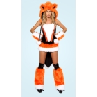 Sexy Animal Costumes for Adults, Sexy Fox Costume, Fox Lady Costume S8520+ Cheaper price + Free Shipping + Fast Delivery