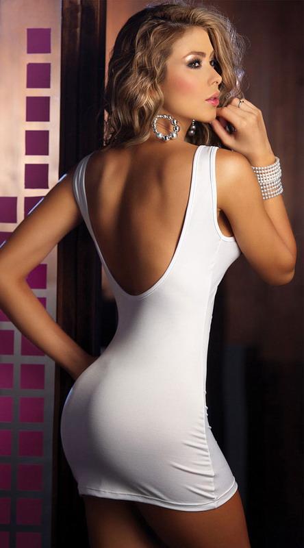Sexy white lady
