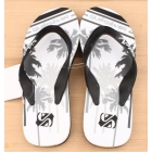 Special summer is cool procrastinate lovely couple of  thin men and women slippers beach shoes word procrastinates