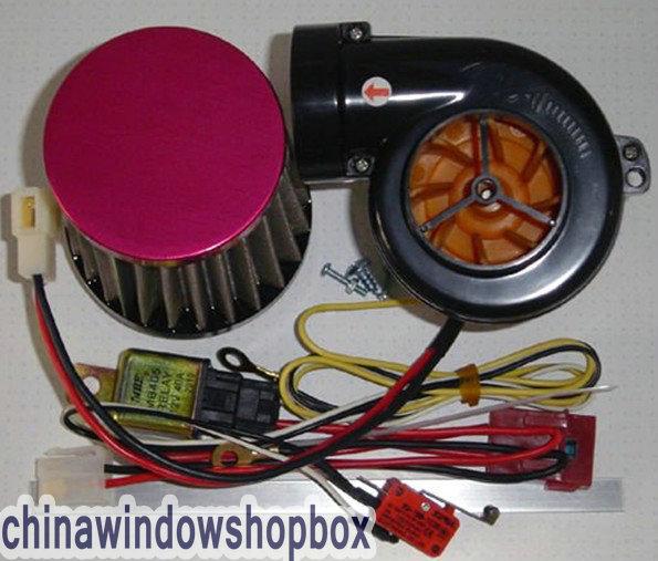 Electric Turbochargers: MINI T-500 Electric TURBOCHARGER SUPERCHARGER KIT